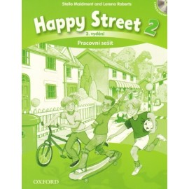 Happy Street 2 Third Edition Activity Book Czech Edition + Audio CD