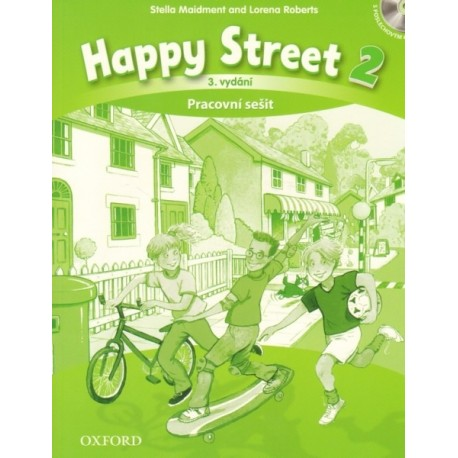 Happy Street 2 Third Edition Activity Book Czech Edition + Audio CD Oxford University Press 9780194751179