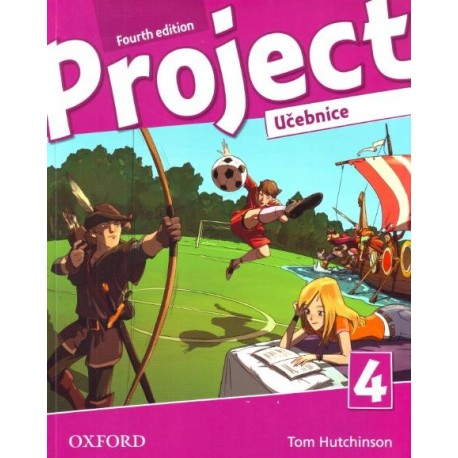 Project 4 Fourth Edition Student's Book Czech Edition Oxford University Press 9780194764681