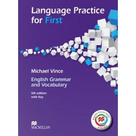 Language Practice for First 5th Edition (2015 format) Student's Book with Key + Macmillan Practice Online