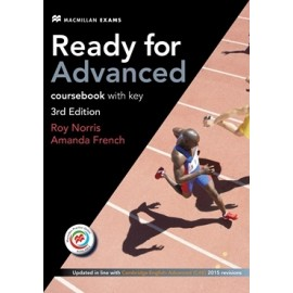 Ready for Advanced Third Edition Student's Book with key + Macmillan Practice Online + Audio download