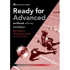 Ready for Advanced Third Edition Workbook with Key + CD