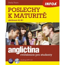 Poslechy k maturitě (A2 - B1) + MP3 Audio CD