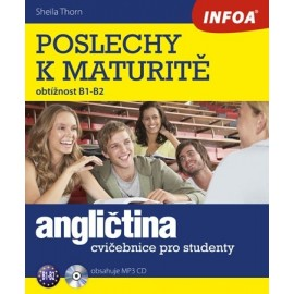 Poslechy k maturitě (B1 - B2) + MP3 Audio CD