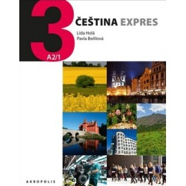 Čeština Expres 3 with English Appendix, Workbook + CD