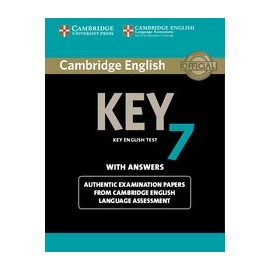 Cambridge English Key 7 Student's Book with Answers + CD