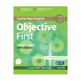 Objective First Fourth Edition (for 2015 Exam) Student's Book with answers + CD-ROM