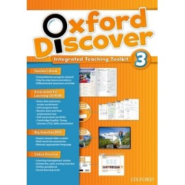 Oxford Discover 3 Teacher's Book with Online Practice