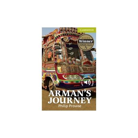 Cambridge Readers: Arman's Journey + Audio download Cambridge University Press 9780521184939