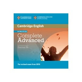 Complete Advanced Second Edition Class Audio CDs