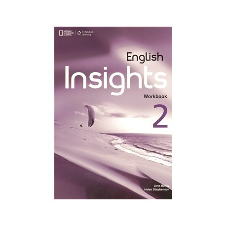 English Insights 2 Intermediate Workbook + Audio CD + DVD Cengage Learning 9781408070956