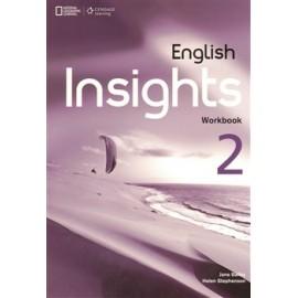English Insights 2 Intermediate Workbook + Audio CD + DVD