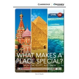 What Makes a Place Special? Moscow, Egypt, Australia + Online Access