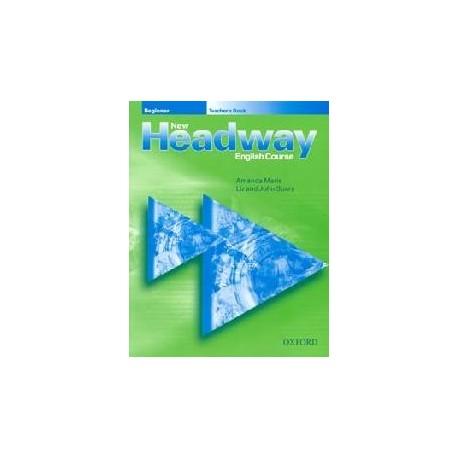 New Headway Beginner Teacher's Book Oxford University Press 9780194376341