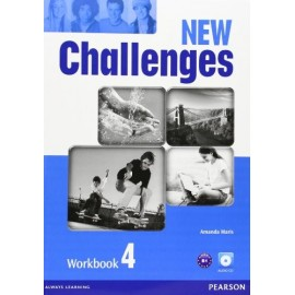 New Challenges 4 Workbook + Audio CD