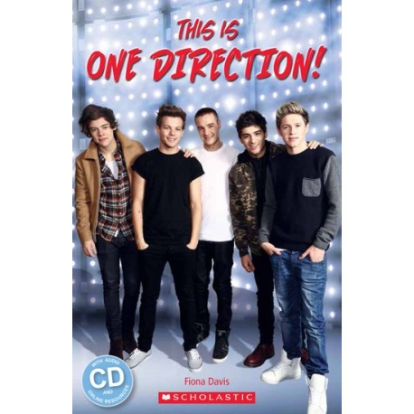 Scholastic Readers: This is One Direction! + Audio CD Scholastic 9781909221864
