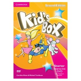 Kid's Box Second Edition Starter Interactive DVD + Teacher's Booklet