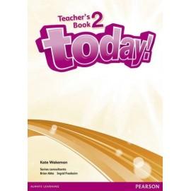 Today! 2 Teacher's Book + eText Access Code