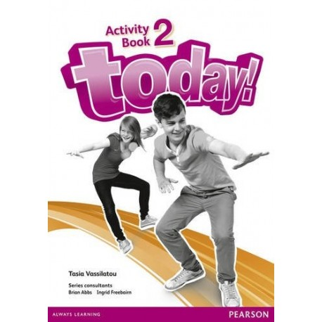 Today! 2 Activity Book Pearson 9781447900856