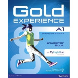 Gold Experience A1 Student's Book + DVD-ROM + Access to MyEnglishLab