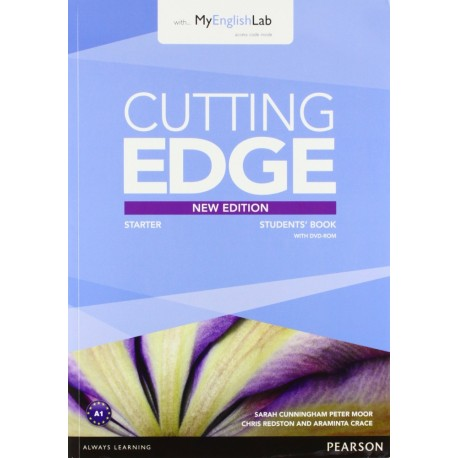 Cutting Edge Third Edition Starter Student's Book + DVD-ROM + Access to MyEnglishLab Pearson 9781447962250