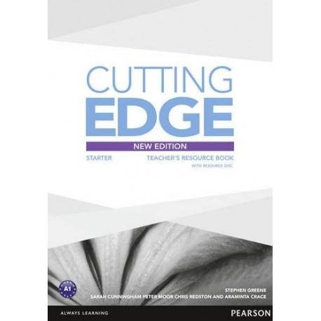 Cutting Edge Third Edition Starter Teacher's Book + Resource CD-ROM Pearson 9781447936978
