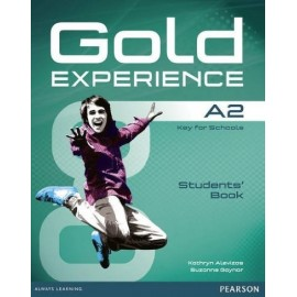 Gold Experience A2 Student's Book + DVD-ROM