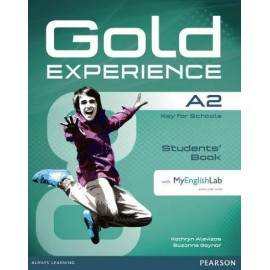 Gold Experience A2 Student's Book + DVD-ROM + Access to MyEnglishLab