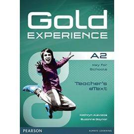 Gold Experience A2 Teacher's eText Active Teach CD-ROM
