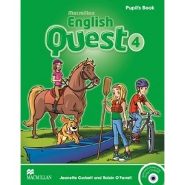 Macmillan English Quest 4 Pupil's Book Pack + CD-ROM