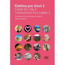 Čeština pro život 2 / Czech for Life 2 / Tschechisch fürs Leben 2 + CDs