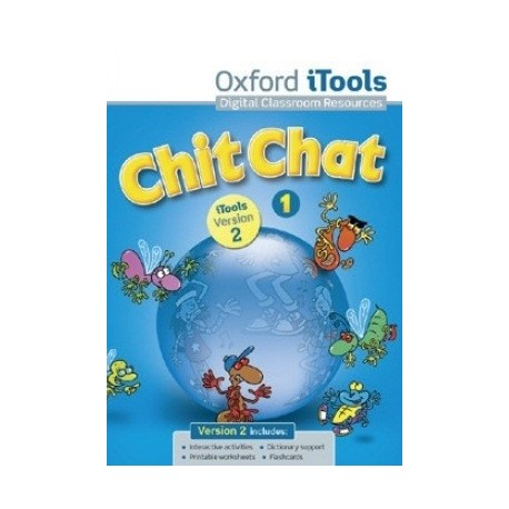 Chit Chat 1 New iTools DVD-ROM with Books on Screen Czech Edition Oxford University Press 9780194334730