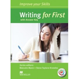 Improve your Skills: Writing for First Student's Book with key + Macmillan Practice Online Pack