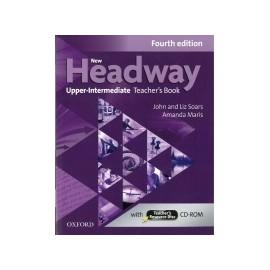 New Headway Upper-Intermediate Fourth Edition Teacher's Book + CD-ROM