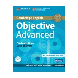 Objective Advanced Fourth Edition (for 2015 exam) Student's Book with answers + CD-ROM