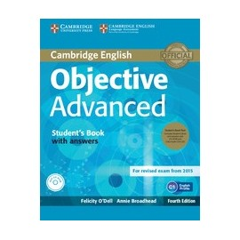 Objective Advanced Fourth Edition (for 2015 exam) Student's Book Pack with answers + CD-ROM + Class CDs