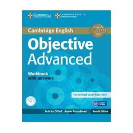 Objective Advanced Fourth Edition (for 2015 exam) Workbook with answers + CD