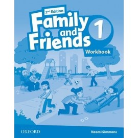 Family and Friends 1 Second Edition Workbook