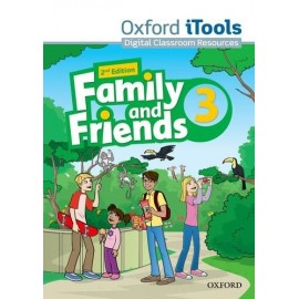 Family and Friends 3 Second Edition iTools DVD-ROM