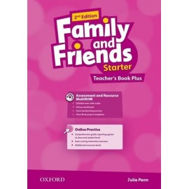 Family and Friends Starter Second Edition Teacher's Book + DVD + MultiROM