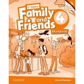 Family and Friends 4 Second Edition Workbook with Online Skills Practice