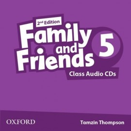 Family and Friends 5 Second Edition Class Audio CDs