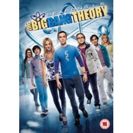 The Big Bang Theory: Complete Seasons 1-6 DVD
