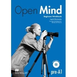 Open Mind Beginner Workbook without Key + CD