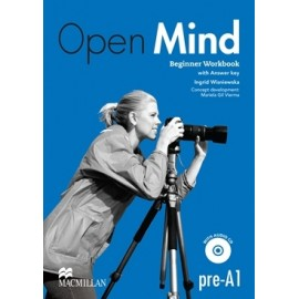 Open Mind Beginner Workbook with Key + CD