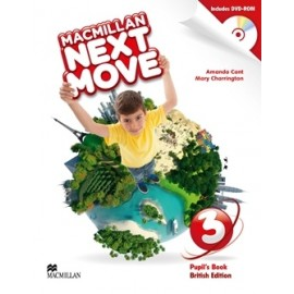 Macmillan Next Move 3 Pupil's Book Pack + DVD-ROM