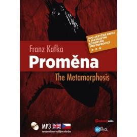The Metamorphosis / Proměna + MP3 Audio CD