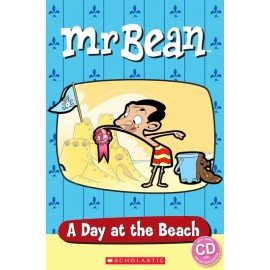 Popcorn ELT: Mr Bean - A Day at the Beach + CD (Level Starter)
