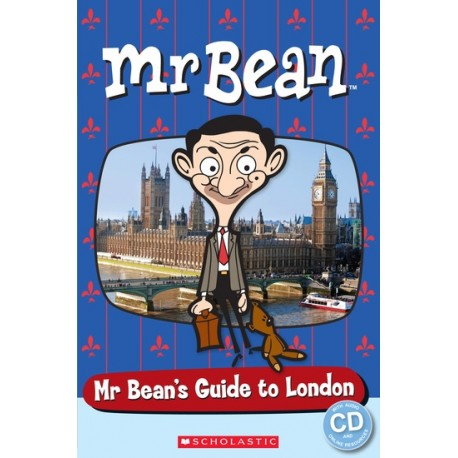 Popcorn ELT: Mr Bean - Mr Bean's Guide to London + CD (Level Starter) Scholastic 9781909221772
