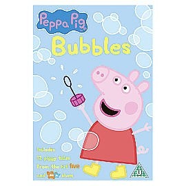 Peppa Pig: Bubbles and other stories DVD